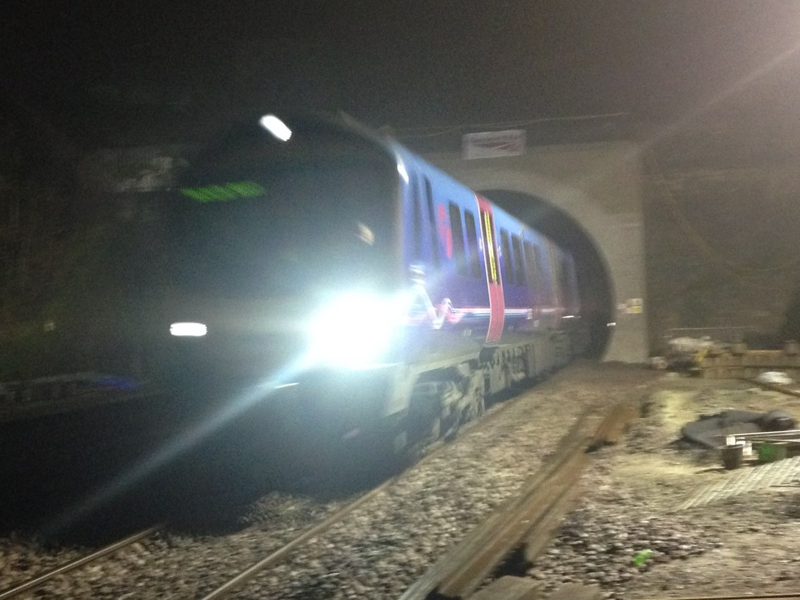 Greater Manchester rail passengers a step closer to greener, faster, more reliable services as enlarged Farnworth tunnel reopens: 1st train through Farnworth tunnel