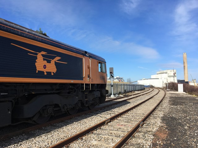 Network Rail, Lynemouth Power, Port of Tyne and GBRF work together to keep 450,000 homes powered up across the United Kingdom: Network Rail, Lynemouth Power, Port of Tyne and GBRF work together to keep 450,000 homes powered up across the United Kingdom PHOTO CREDIT LPL