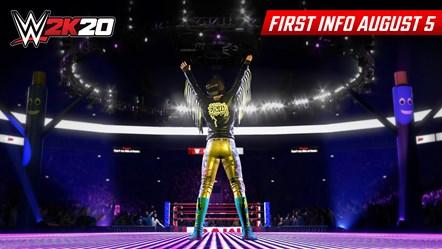 WWE2K20 First Look Bayley