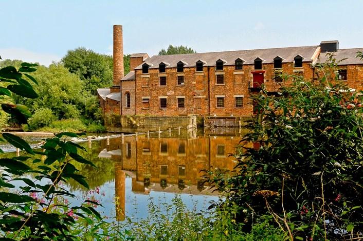 Thwaite Mills: Thwaite Mills in Leeds