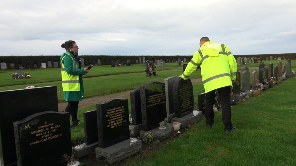Public safety a priority as headstone inspections get under way in Moray cemeteries: Public safety a priority as headstone inspections get under way in Moray cemeteries
