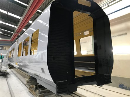 Class 197 DMU body shell