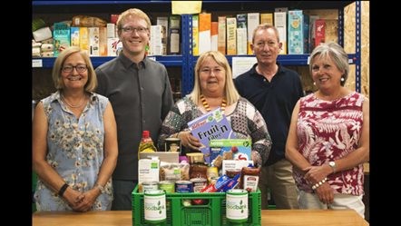 Witney Foodbank trustees