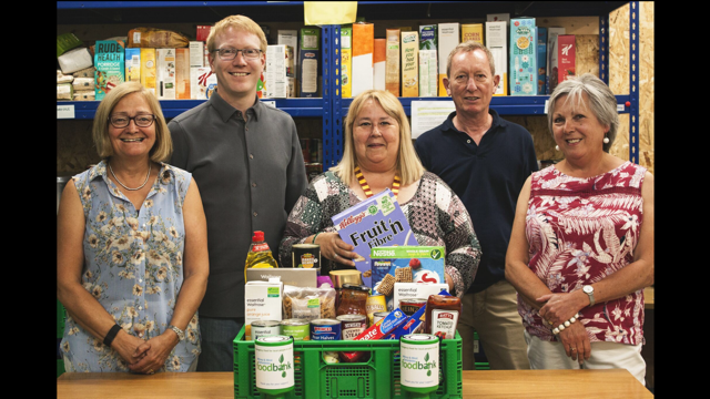 Witney Foodbank trustees
