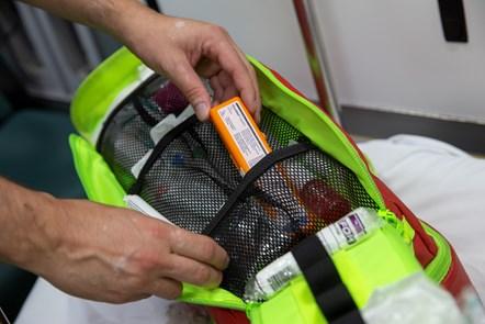 Paramedic medicine kit bag