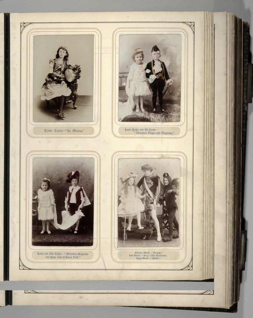Object of the week- Fancy dress photo album: albumpage1.jpg