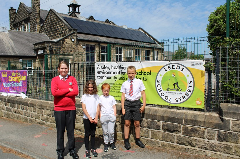 Otley primary school achieves gold award for active and sustainable travel: WestgatePrimarySchool