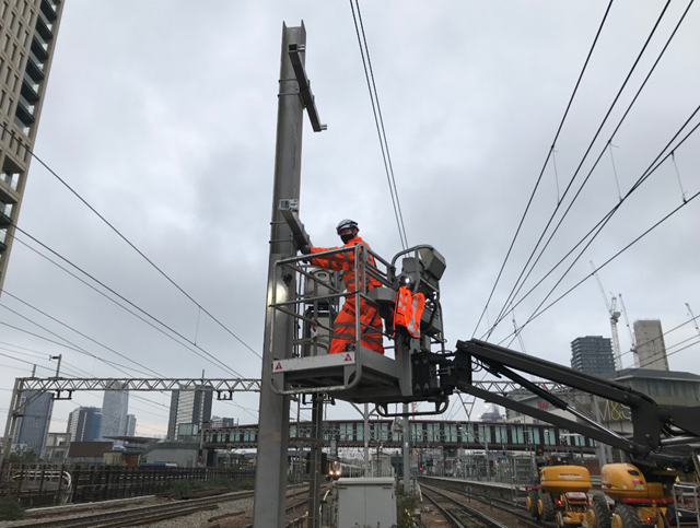 Essential weekend engineering work will be taking place over January and February on the Great Eastern and Southend Victoria lines.: Stratford 1
