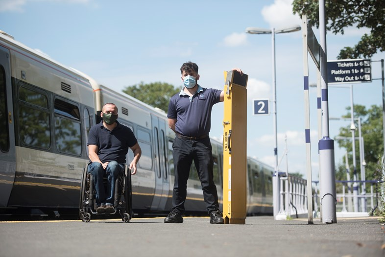 Paralympian Andy Barrow to lead panel ensuring Southeastern trains are accessible to all: Andy Barrow 1