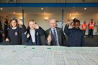 Southeastern supports world record mural colouring: HerneHillMural10