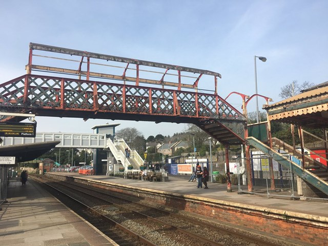 St Austell's Victorian footbridge finds new home at Helston heritage railway: St Austell footbridge