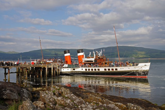 Waverley Paddle Steamer in Keppel