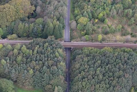 Murieston Road aerial