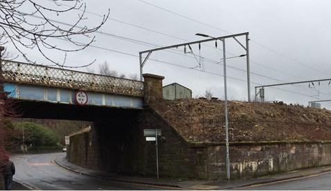 Bonhill Rd bridge, Dumbarton