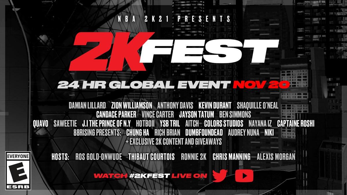 2K Fest Announcement 1920x1080 ENG ESRB