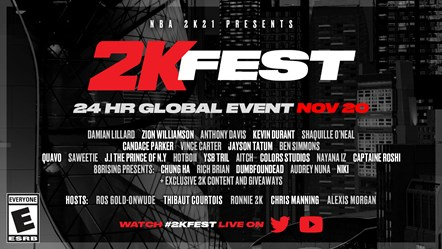 2K Fest Announcement 1920x1080 ENG ESRB