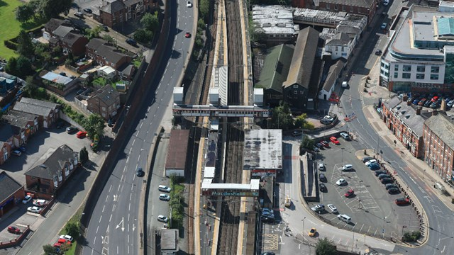 Passengers to benefit from new lifts at Macclesfield station: Macclesfield-station (1)