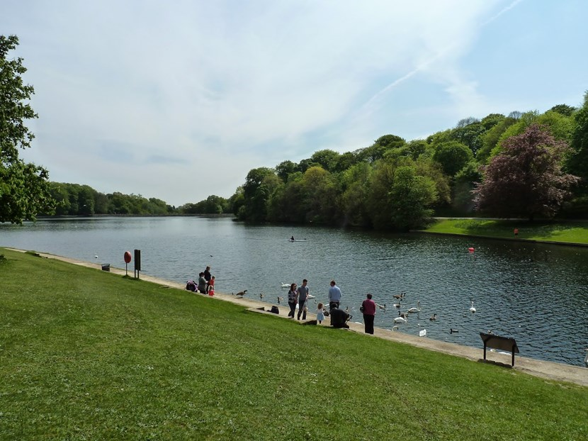 Leeds City Council launches new campaign in face of littering in Leeds parks: roundhayparklake