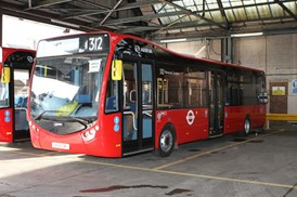 Arriva operate London's first fully electric bus route: Arriva operate London's first fully electric bus route