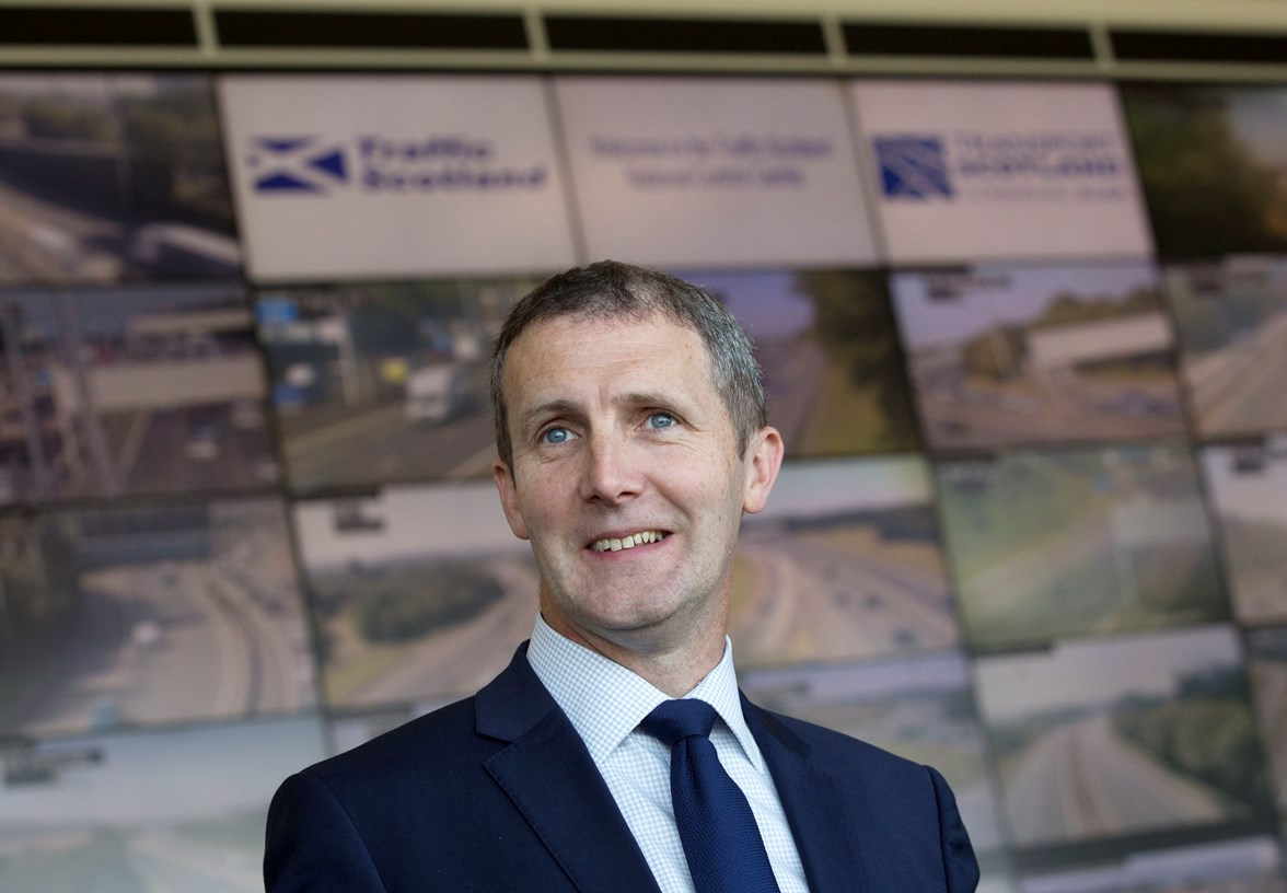 Cabinet Secretary for Transport, Infrastructure and Connectivity, Michael Matheson