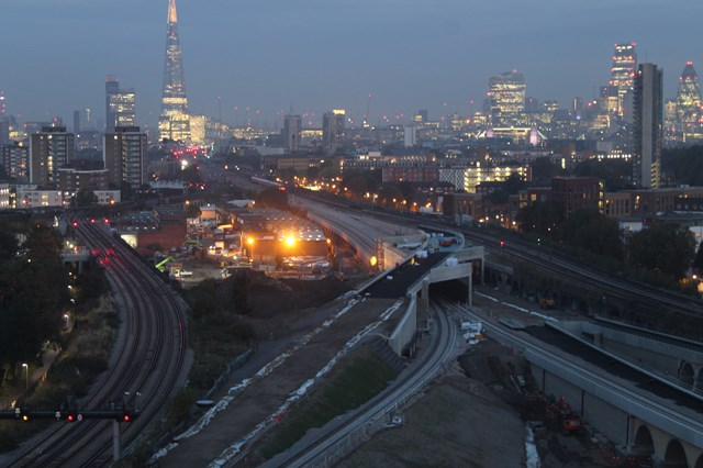 Passengers in Kent and South East London are reminded to check before they travel this Christmas and plan ahead for next year as Network Rail carries out essential upgrade work: BDUandLondonBridgeEvening