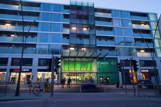 Epsom station - Solum Regeneration joint venture: Our joint venture Solum Regeneration is delivering station-led development in the south east, including this project at Epsom completed in 2013 which delivered new and improved station facilities as well as over 100 new homes, a new hotel and mixed commercial premises