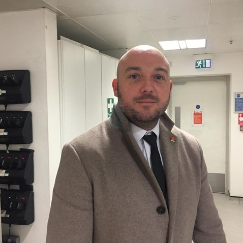 Birmingham New Street station manager Patrick Power