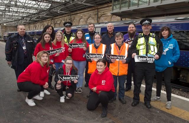Scotland's Railway colleague wins Crimestoppers award: Fearless