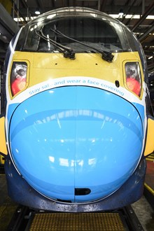 SOUTHEASTERN UNVEILS FACE MASK ARTWORK ON HIGH SPEED SERVICE-2