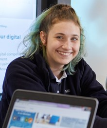 Kirsty Milne Siemens engineering apprentice from Siemens