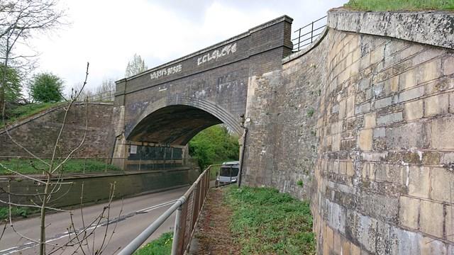 Manton Railway bridge