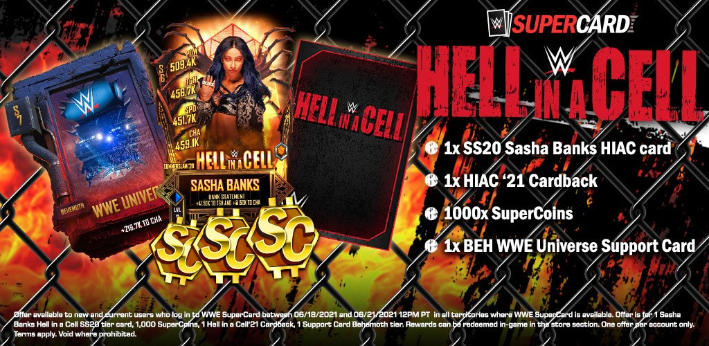 WWESC S7 Hell in a Cell Rewards