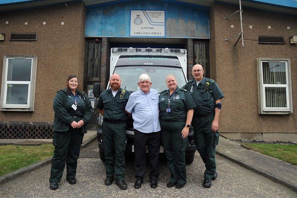 Man thanks crew for saving his life: Stephen Nardone