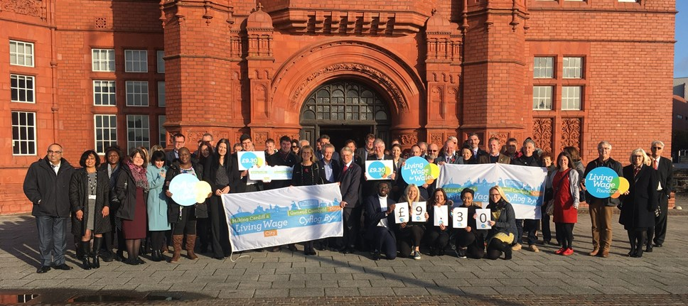 Transport for Wales Celebrates Commitment to Real Living Wage: living wage (2)