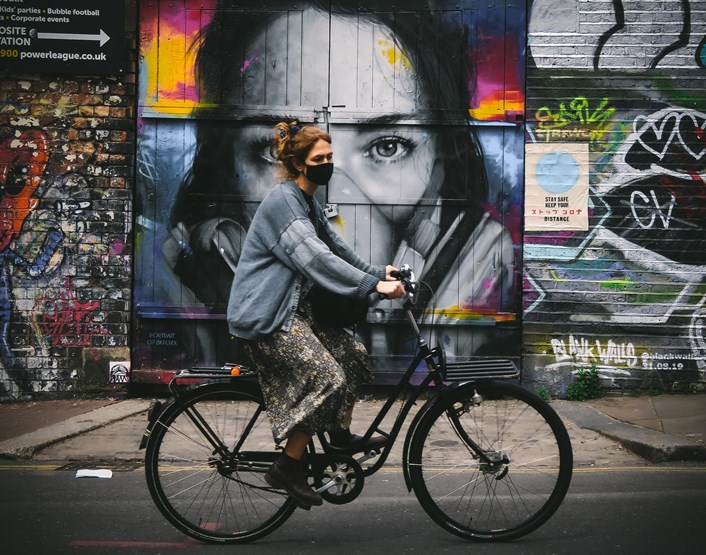 Because I'm a Londoner - Photo Comp Winners Announced: Bike Girl © MrG