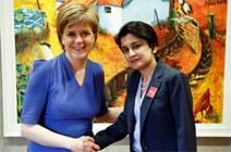 First Minister meets Shami Chakrabarti