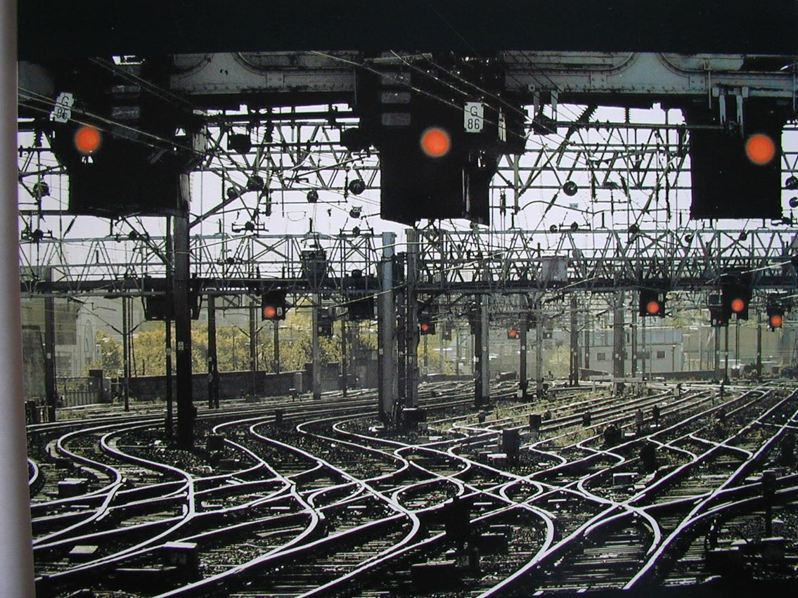 Stay home, stay safe, stay off the railway: Signals
