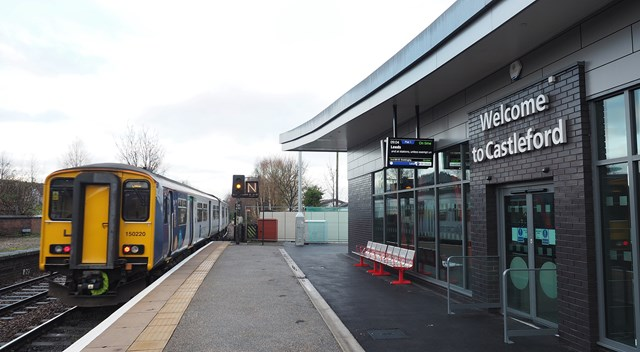 Castleford Railway Station £2.8 Million Transformation Now Complete: Castleford Railway Station £2.8 Million Transformation Now Complete