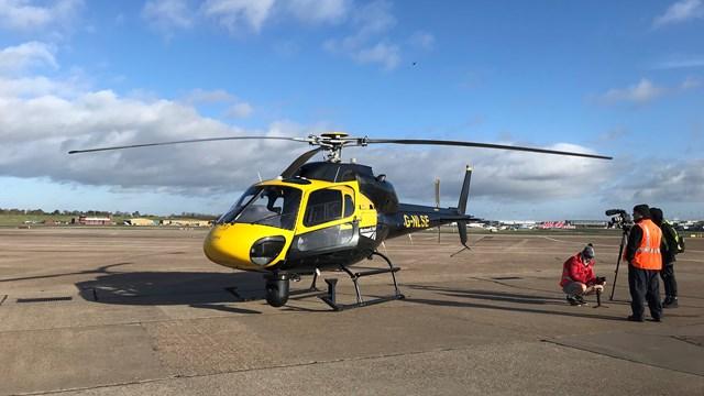 Network Rail helicopter stockshot-2
