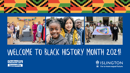 Welcome to Black History Month 2021!