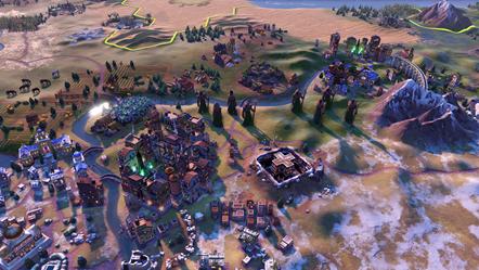 Civilization VI - New Frontier Pass - Secret Societies - Voidsingers Old God Obelisk