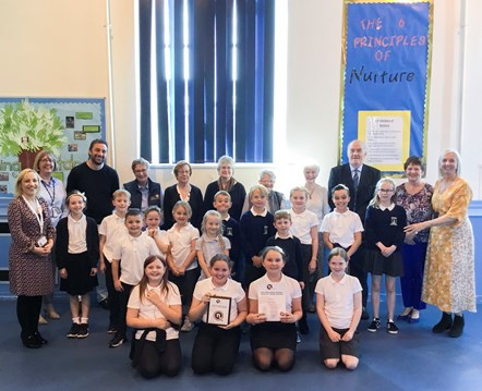 Anderson's Primary awarded National Nurturing Schools status: Anderson's Primary awarded National Nurturing Schools status