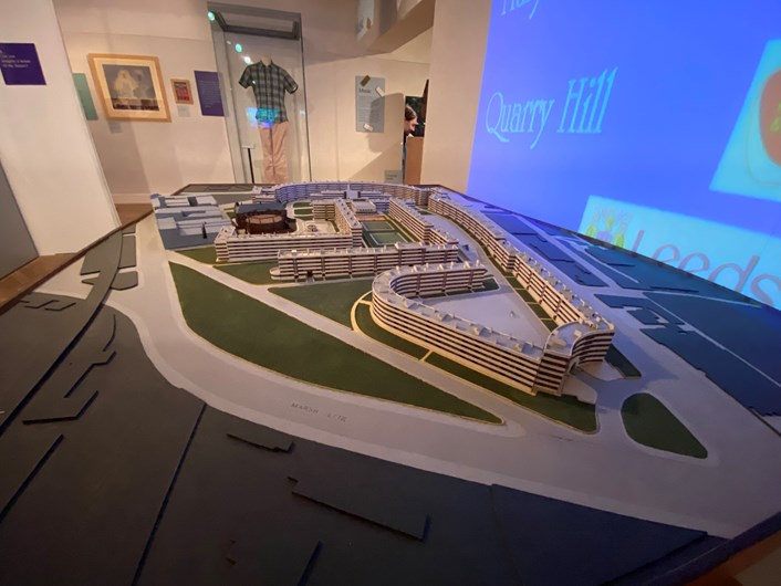 Leeds City Museum 200: A detailed model of the old Quarry Hill development, built in the 1930s and once the largest social housing complex in the United Kingdom.