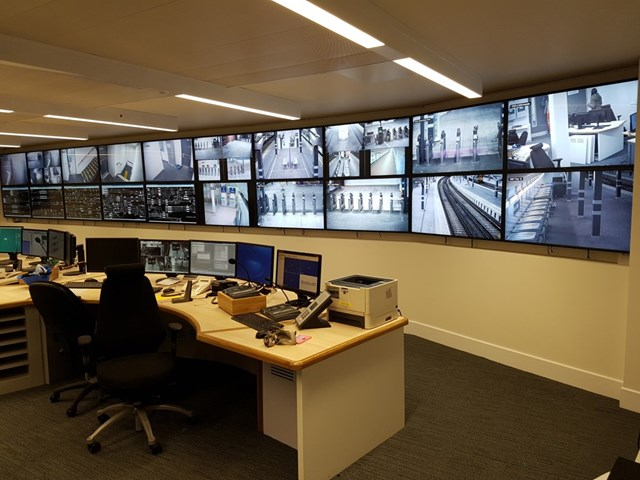 Network Rail supporting initiatives to solve railway challenges: London Bridge Comms Room