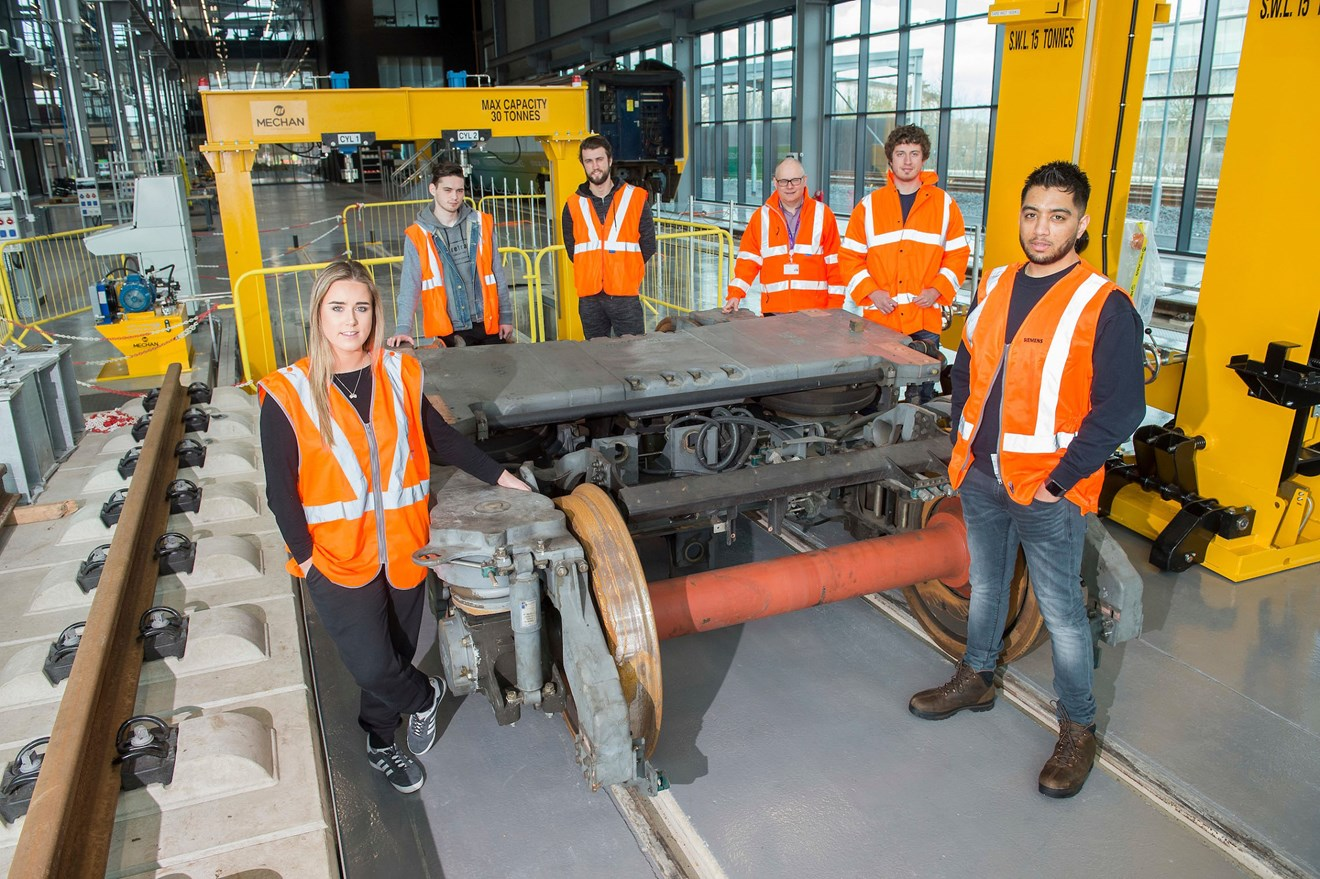 National College for High Speed Rail gets on track with Siemens' equipment donation: National College for High Speed Rail gets on track with Siemens' equipment donation