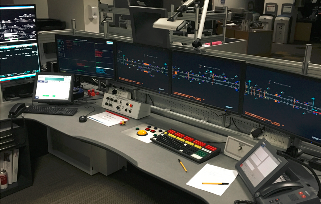 North Wales passengers benefit from newly commissioned signalling system: The new Rhyl workstation is now in operation at the Wales Railway Operating Centre