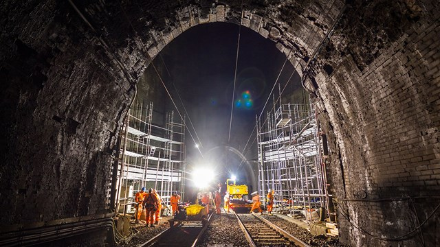 Major track and drainage upgrades on West Coast main line: Kilsby Tunnel Credit GBickerdike (1)
