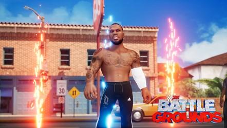 WWE2K BG Laheem Lillard Entrance