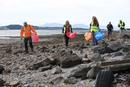 Beach Clean Visit