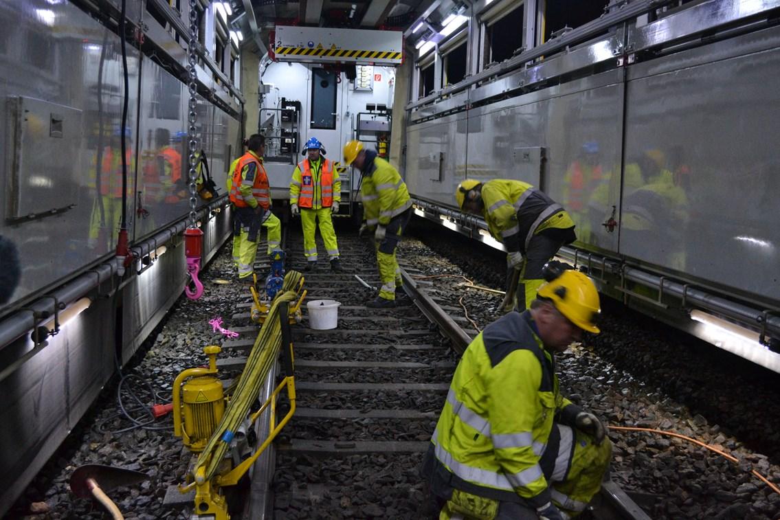 Mobile Maintenance Train (MMT) - internal 1